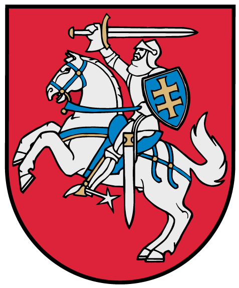 Coat of arms of Lithuania redraw from original