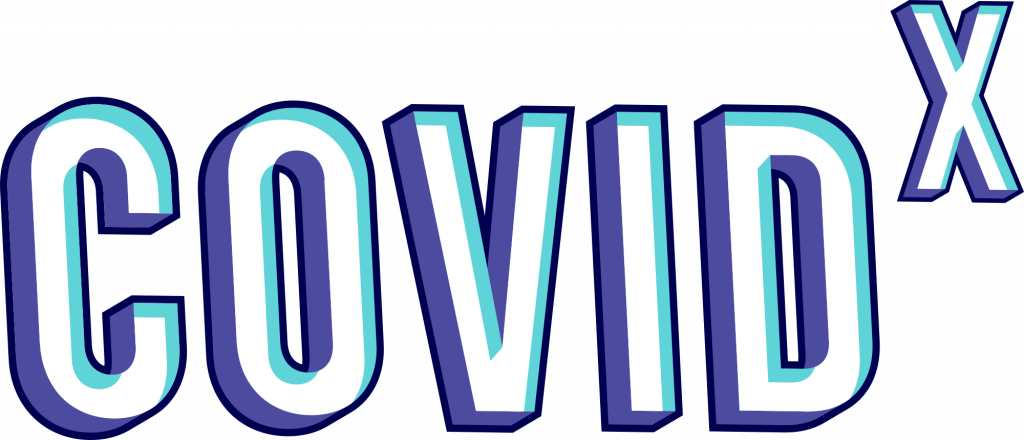 COVID X logo